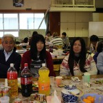 卒園生と平沢職員